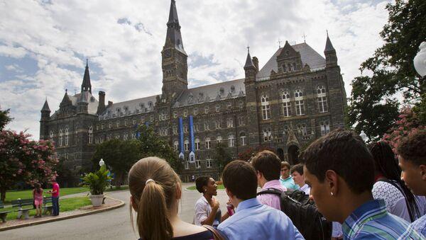 Georgetown Üniversitesi - Sputnik Türkiye