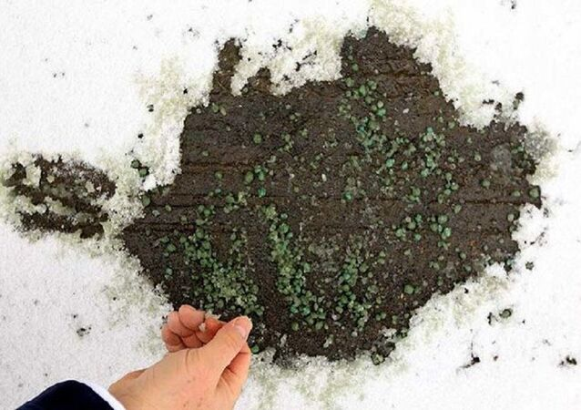Buz Yak'la çözülen kar