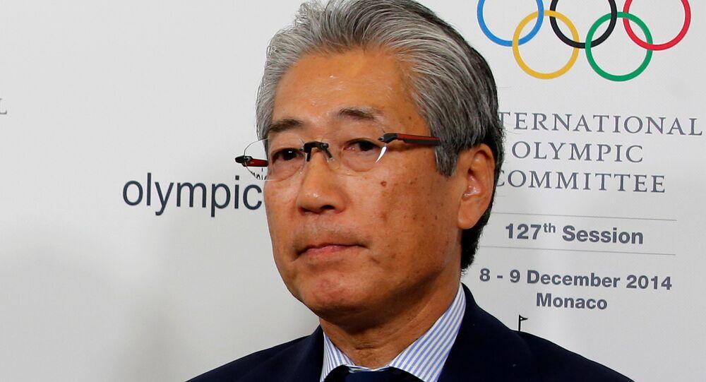 Japonya Olimpiyat Komitesi (JOC) Başkanı Tsunekazu Takeda