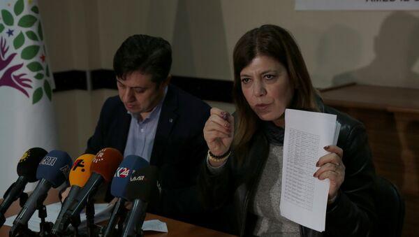 HDP Siirt milletvekili Meral Danış Beştaş - Sputnik Türkiye