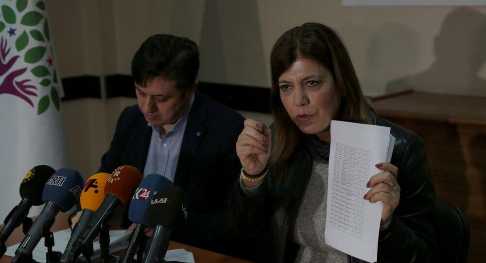 HDP Siirt milletvekili Meral Danış Beştaş