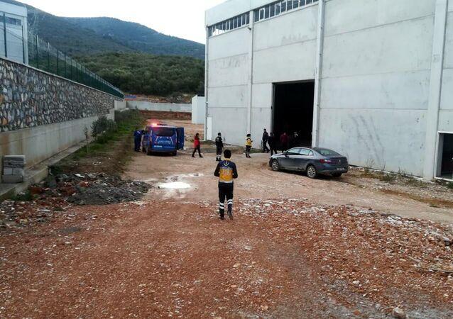 İzmir'de bir fabrikada kazan patladı: 2 ölü ve 3 yaralı