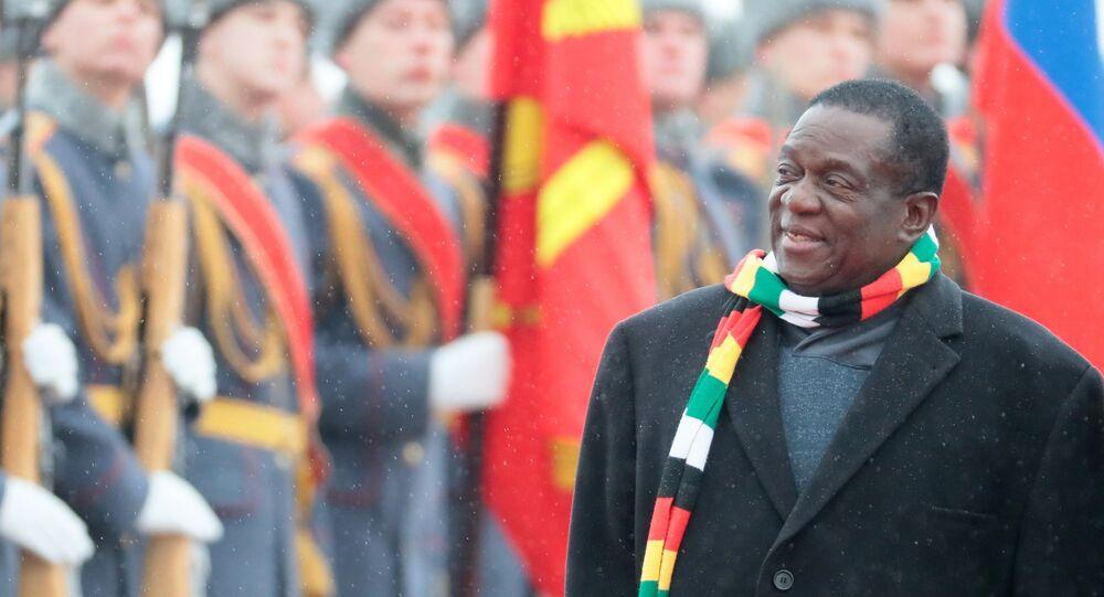 Zimbabve lideri Emmerson Mnangagwa