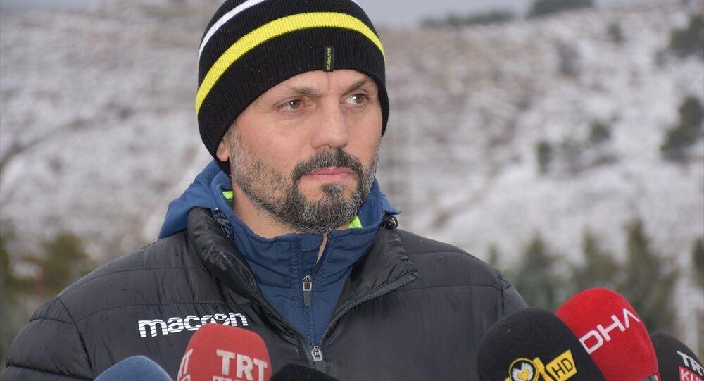 Evkur Yeni Malatyaspor'un teknik patronu Erol Bulut