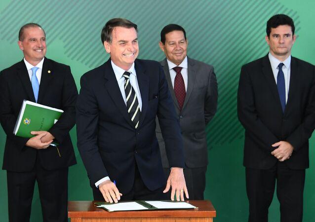 Brezilya'nın yeni Devlet Başkanı Bolsonaro