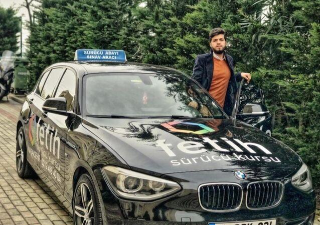 Sürücü kursu işletmecisi Ömer Faruk Topdemir