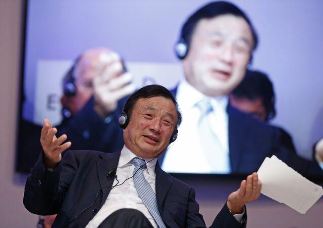 Çin'in teknoloji devi Huawei'nin kurucusu ve başkanı Ren Zhengfei