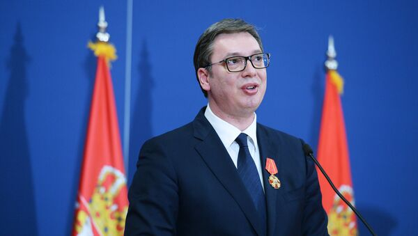 Sırbistan Devlet Başkanı Aleksandr Vucic - Sputnik Türkiye