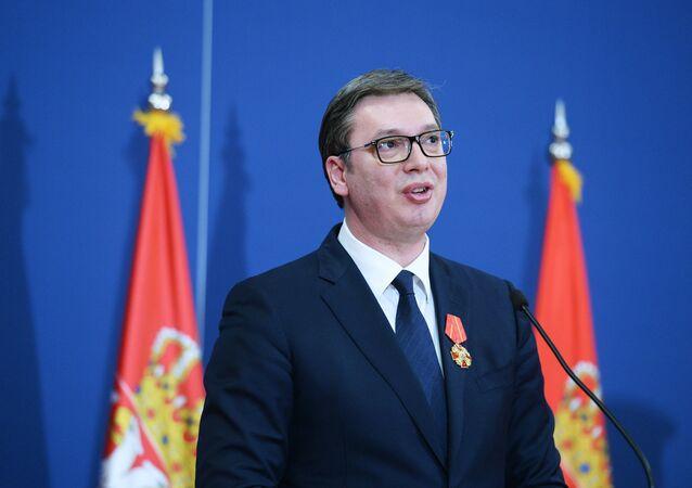 Sırbistan Devlet Başkanı Aleksandr Vucic