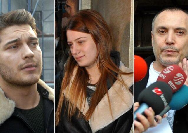 Çağatay Ulusoy, Gizem Karaca ve Cenk Eren