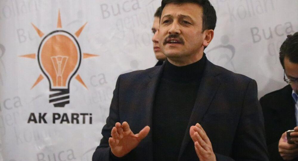 AK Parti Genel Başkan Yardımcısı Hamza Dağ
