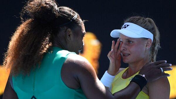 ABD'li tenisçi Serena Williams ve Ukraynalı rakibi Dayana Yastremska - Sputnik Türkiye