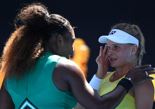 ABD'li tenisçi Serena Williams ve Ukraynalı rakibi Dayana Yastremska