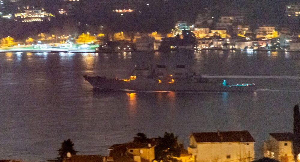 ABD savaş gemisi USS Donald Cook