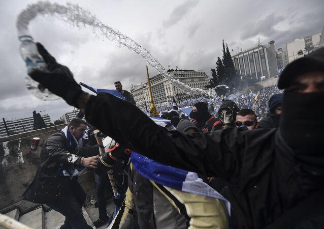Yunanistan'daki gösteriler
