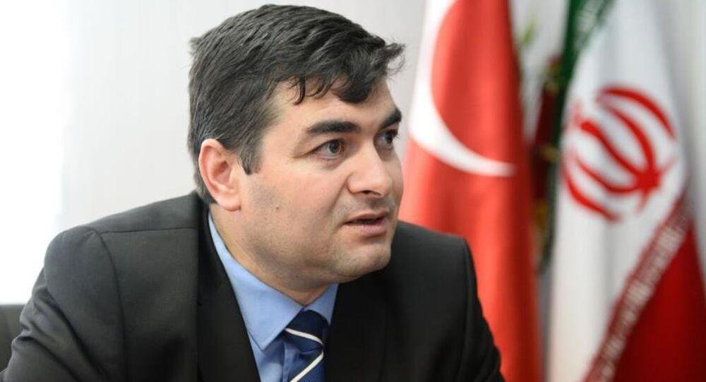 Müstakil Sanayici ve İşadamları Derneği (MÜSİAD) Tahran Temsilcisi Fatih Çayabatmaz