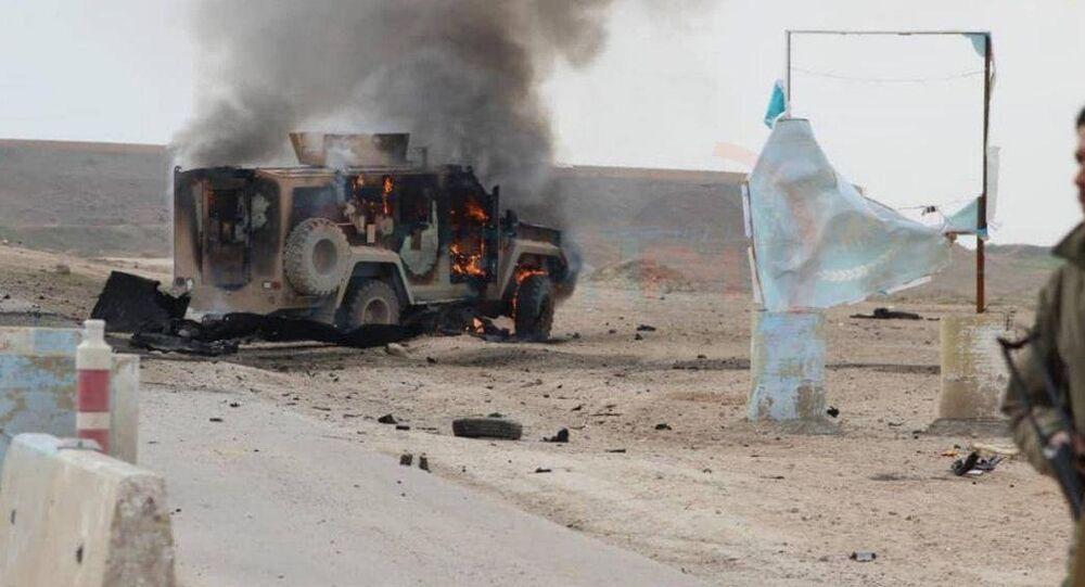 Haseke'de ABD - YPG konvoyuna saldırı