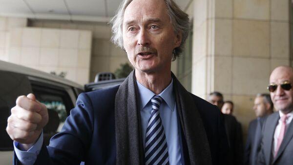 United Nations special envoy Geir Pedersen - Sputnik Türkiye