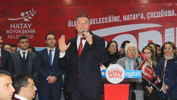 Hatay Büyükşehir Belediye Başkanı Lütfü Savaş - Sputnik Türkiye