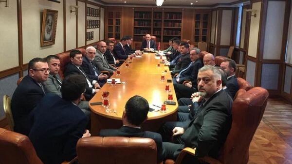Moskova Büyükelçisi Mehmet Samsar, RTİB Yönetim Kurulu - Sputnik Türkiye