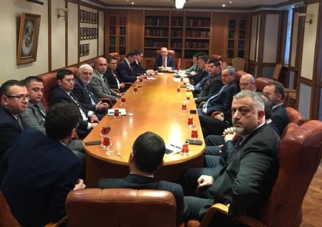 Moskova Büyükelçisi Mehmet Samsar, RTİB Yönetim Kurulu