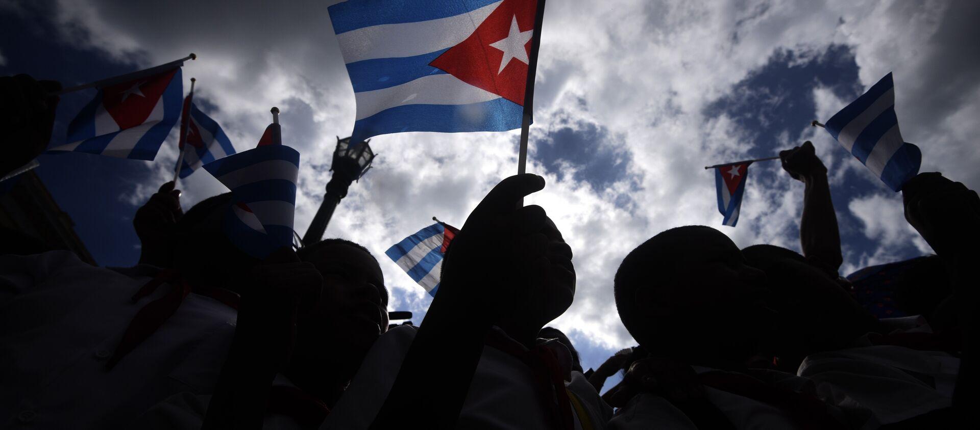Küba bayrağı - Sputnik Türkiye, 1920, 12.07.2021
