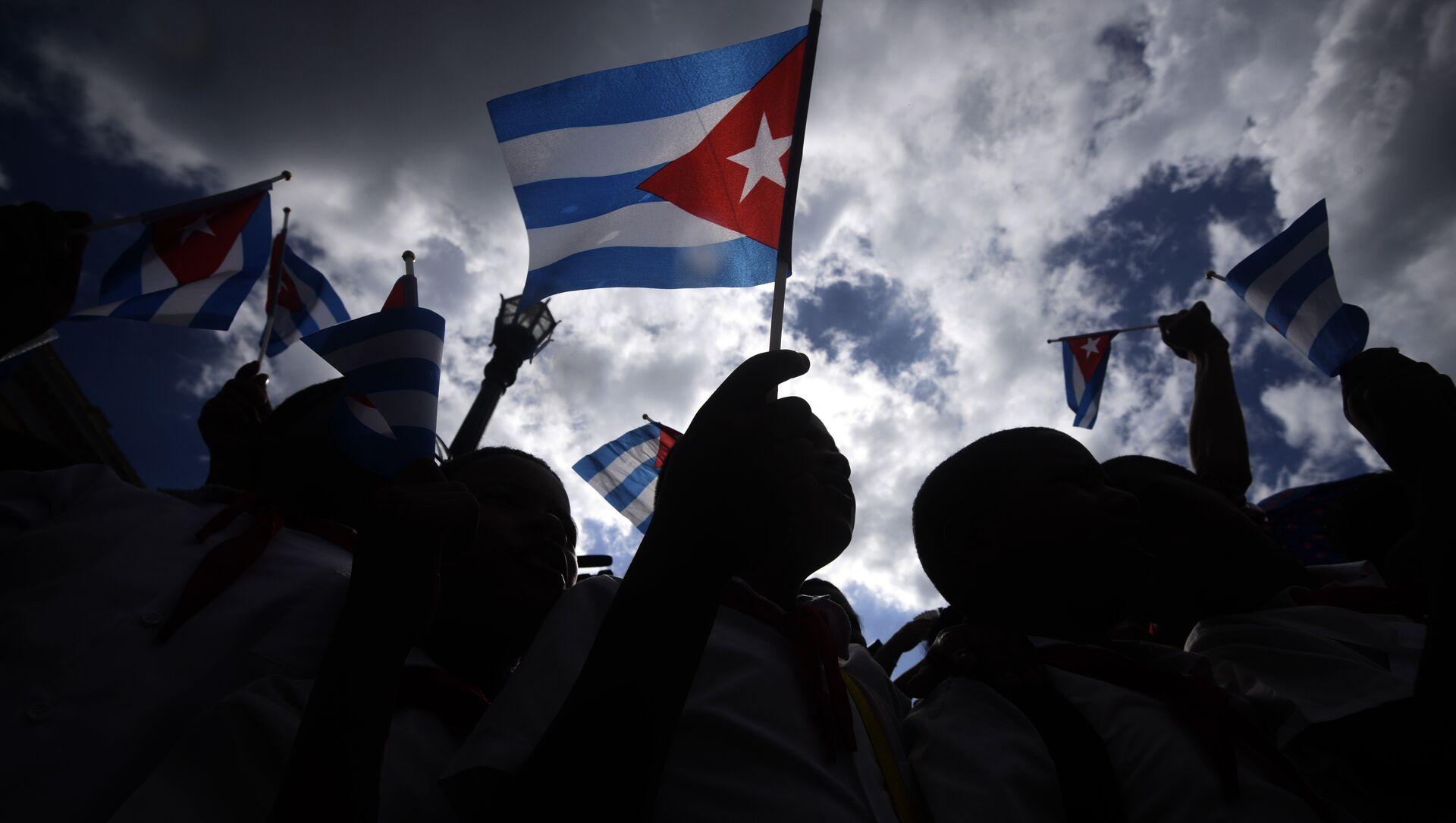 Küba bayrağı - Sputnik Türkiye, 1920, 27.07.2021