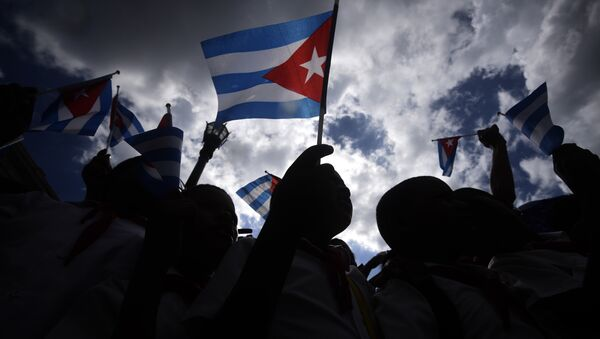 Küba bayrağı - Sputnik Türkiye