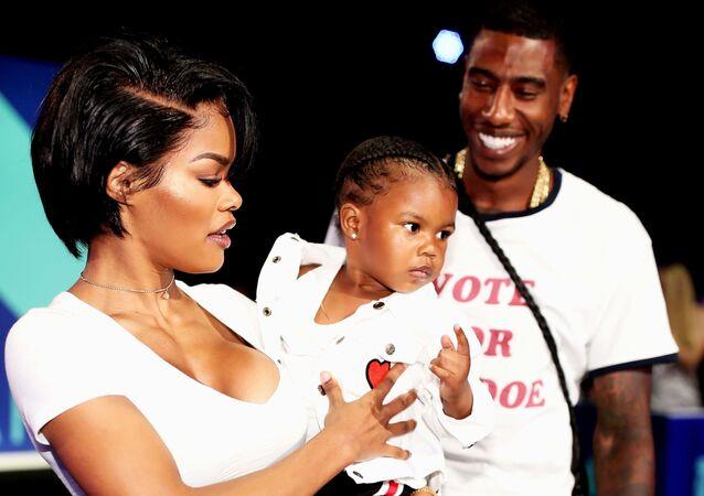 Teyana Taylor-Iman Shumpert çifti ile kızları Junie