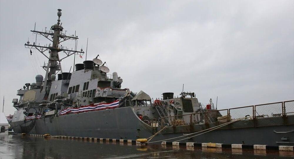 ABD savaş gemisi 'USS Donald Cook' Gürcistan'da