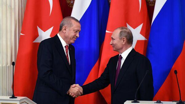Putin-Erdoğan görüşmesi - Sputnik Türkiye