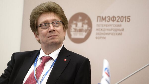 Moskova Borsası CEO'su Aleksandr Afanasiyev - Sputnik Türkiye