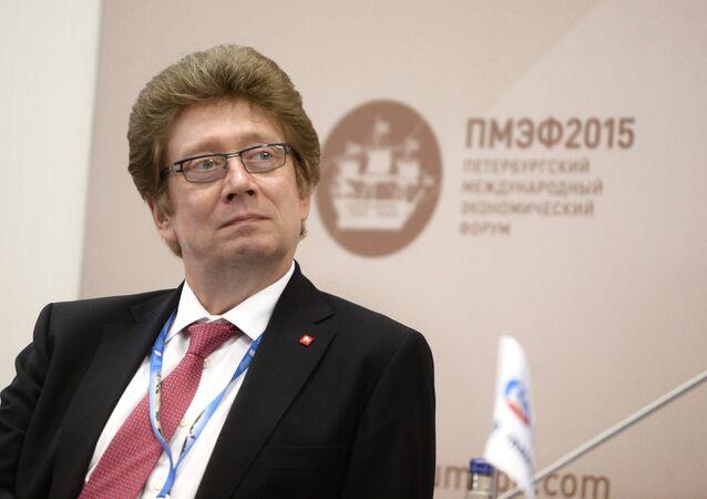 Moskova Borsası CEO'su Aleksandr Afanasiyev