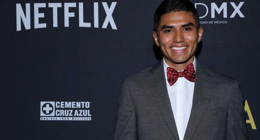 Roma'nın Meksikalı oyuncusu Jorge Antonio Guerrero