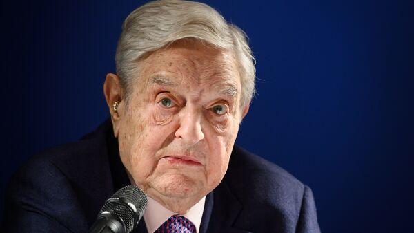 George Soros - Sputnik Türkiye