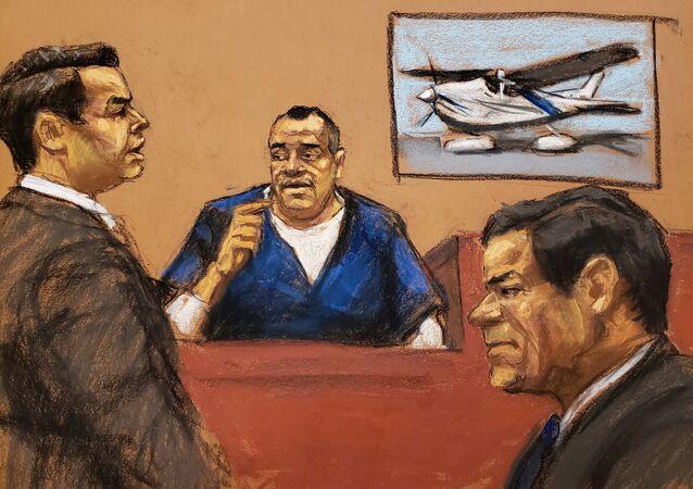 El Chapo'nun eski koruması - Isaias Valdez Rios