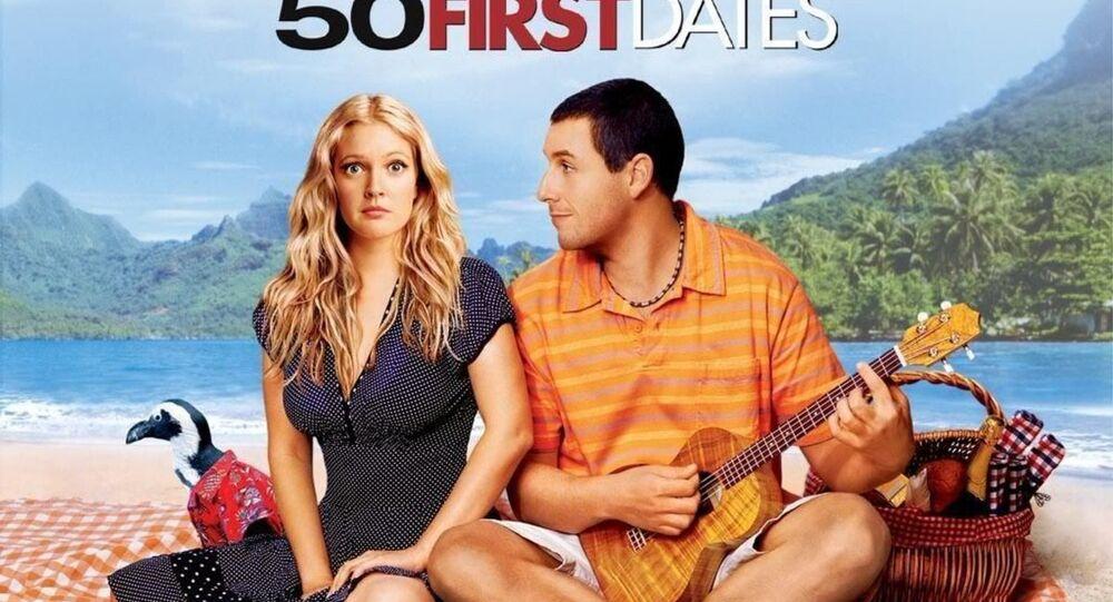 '50 First Dates' (50 İlk Öpücük) filmi afişi