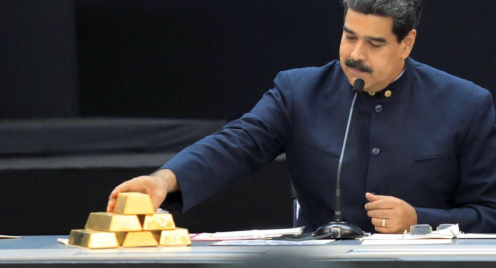 Venezüella altınları