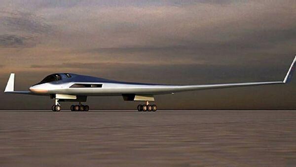 Rusya'nın uzun menzilli hayalet uçağı Tupolev PAK DA - Sputnik Türkiye