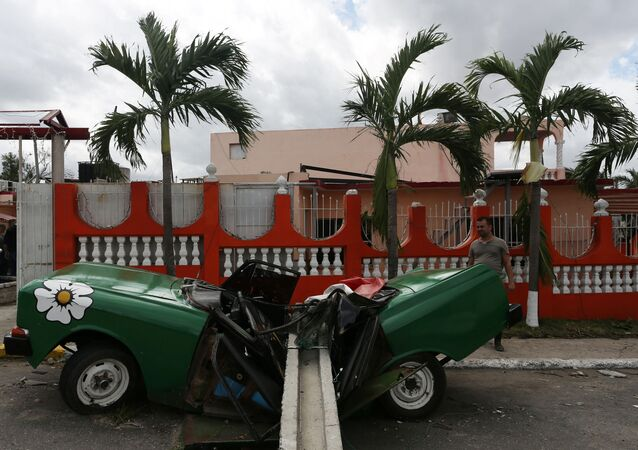 Kasırganın vurduğu Küba'nın başkenti Havana'dan çarpıcı görüntüler