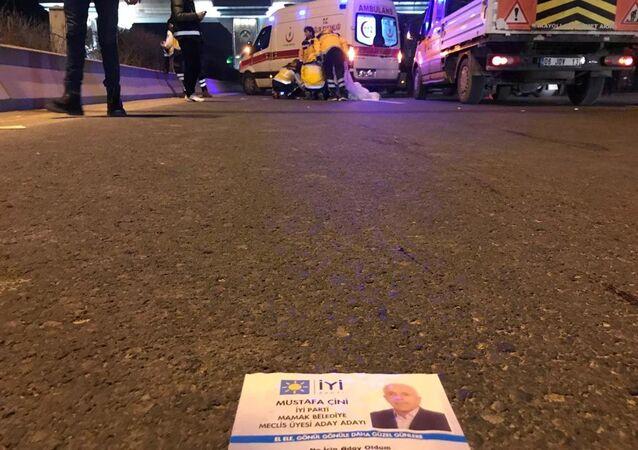 İYİ Partili Aday Adayı Mustafa Çini, seçim broşürü dağıtırken hayatını kaybetti
