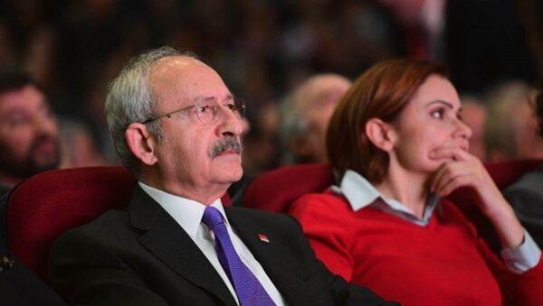 Kemal Kılıçdaroğlu - Canan Kaftancıoğlu - Sputnik Türkiye