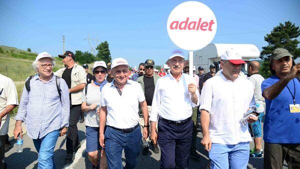 Aykurt Nuhoğlu - Kemal Kılıçdaroğlu - Sputnik Türkiye