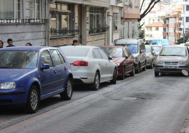 sokak - otomobil - park
