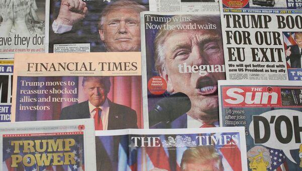 ABD Basını - Trump - Sputnik Türkiye