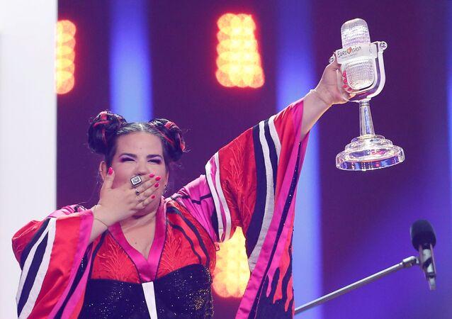 Eurovision 2018 yarışmasını kazanan İsrailli yarışmac Netta Barzilai