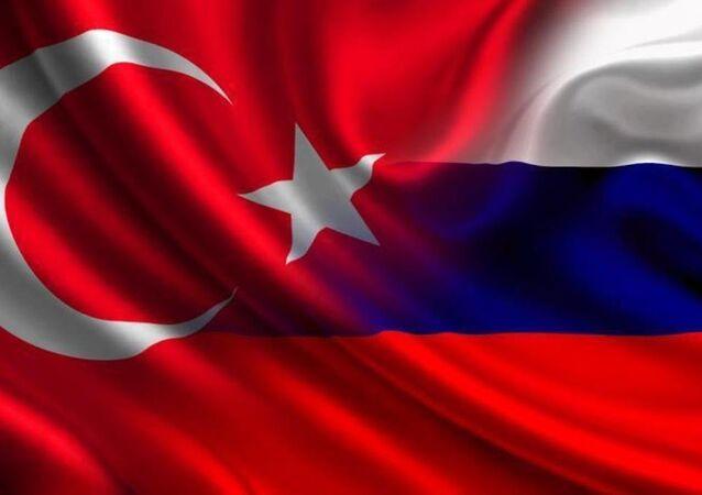 Rusya- Türkiye- Bayrak