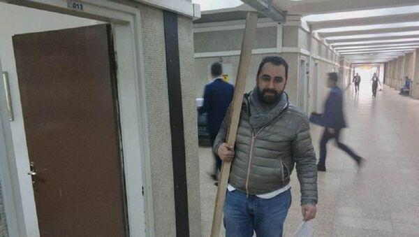 Ağır cezalık olan toz kavgasında 'kalas' delil olarak sunuldu - Sputnik Türkiye