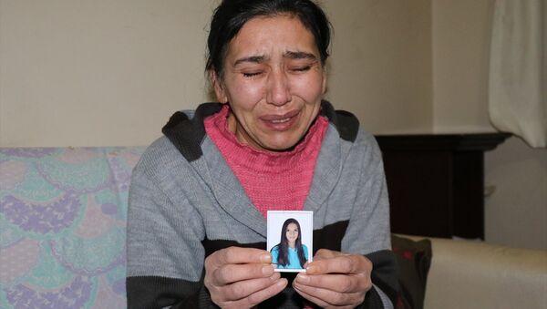 Kızının bulunmasını isteyen anne Emine Ö - Sputnik Türkiye