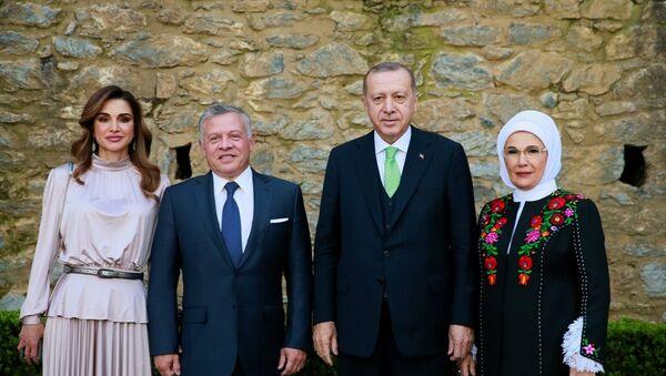 Erdoğan, Ürdün Kralı 2. Abdullah ile bir araya geldi - Sputnik Türkiye
